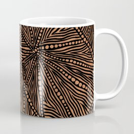 Rustic Triangles Coffee Mug