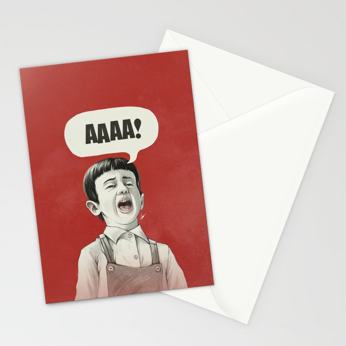 AAAA! Stationery Cards