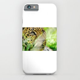 Love Panther iPhone Case