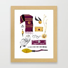 HP Tools of the Trade Framed Art Print