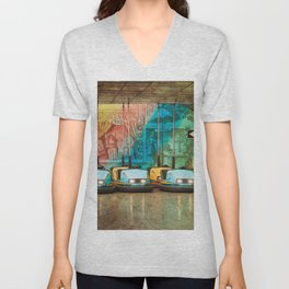 Bumper Cars Unisex V-Neck