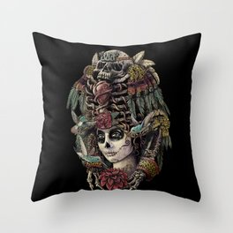 Day of the Dead (Ancient Guardians) Throw Pillow