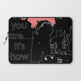 basketball quote Laptop Sleeve