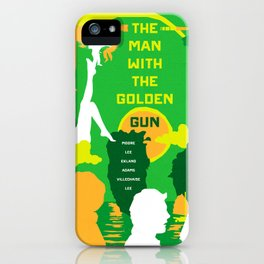James Bond Golden Era Series :: The Man with the Golden Gun iPhone Case