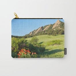 Boulder Colorado Flatirons Carry-All Pouch