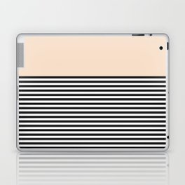 STRIPE COLORBLOCK {CREAM} Laptop & iPad Skin