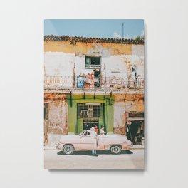 Summer in Cuba Metal Print