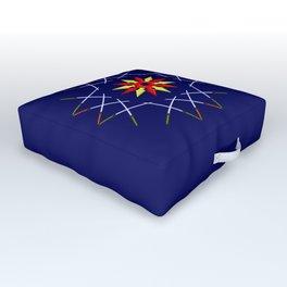 Katana Sword Design version 3 Outdoor Floor Cushion