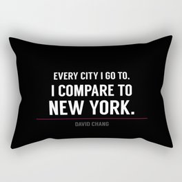 New York Is the Only City for Me Rectangular Pillow