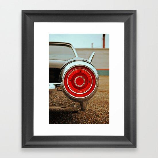 Thunderbird details Framed Art Print