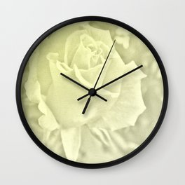 bright large format filling roses bloom Wall Clock