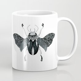 Beetle #4 B&W Coffee Mug