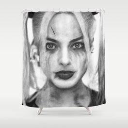 Margot Robbie Shower Curtain
