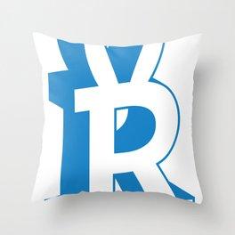 Rabbitguts Logo Throw Pillow