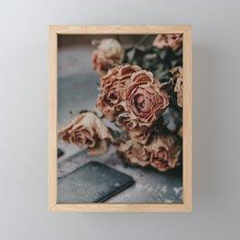 Flowers in Autumn, The Netherlands | Gorgeous closeups | Photography fineart | Art Print Framed Mini Art Print