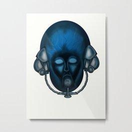 Blue Head Fantasy   Metal Print