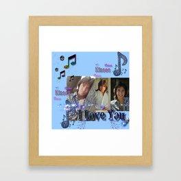David Cassidy - Musical Sass Framed Art Print
