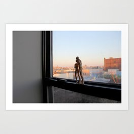 Androids in Bushwick Art Print