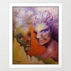 Effect of love Art Print