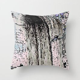 "series waterfall ""Cachoeira Grande"" I Throw Pillow"