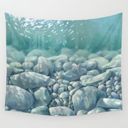 Vermont Stream Bed Wall Tapestry