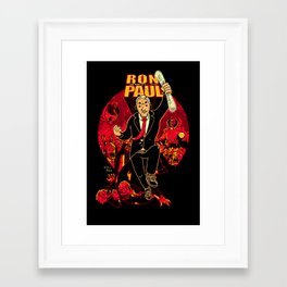 Ron Paul: The Road to REVOLution Framed Art Print