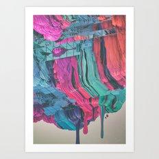 QUAGMIRE (everyday 12.18.15) Art Print