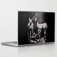 dad Laptop & iPad Skins featuring Deer Dad by SPYKEEE
