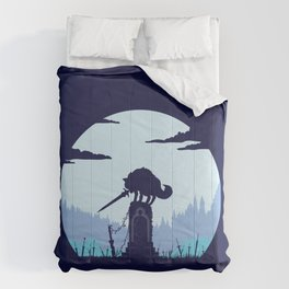 Grey Wolf Sif (Dark Souls) Comforters