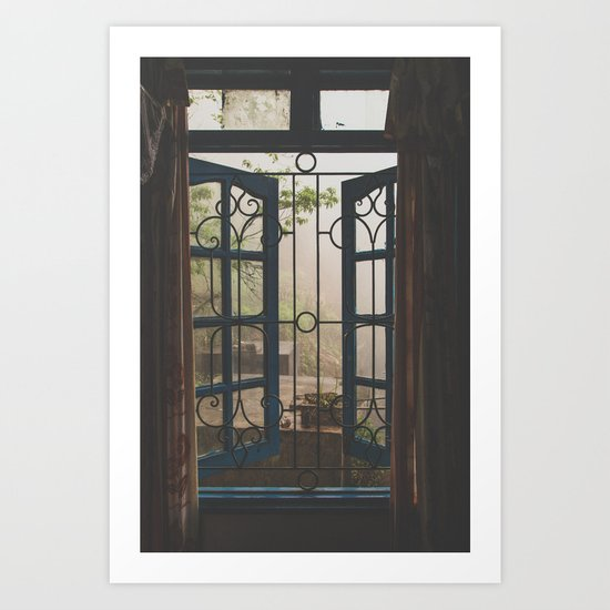 Window Views III Art Print