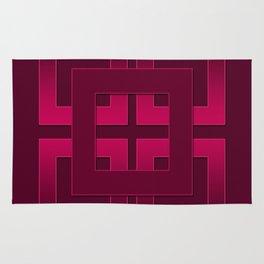 Rubin , geometric Rug