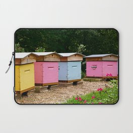 Colourful Beehives of the Grande Jatte. Laptop Sleeve