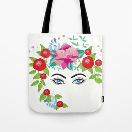 Eyes in the Garden Tote Bag