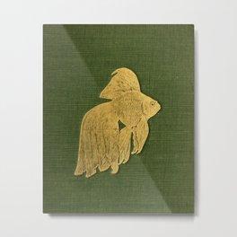 Gilded Goldfish Metal Print