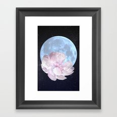 Talking to the Moon Framed Art Print