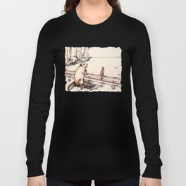 The Girl & The Beaver (or, Is It Alright if I Take Notes?) Long Sleeve T-shirt