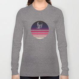 Classic Retro Design Skull #4 Long Sleeve T-shirt