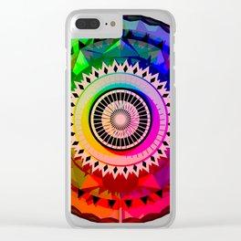 Graphic Mandala HD Clear iPhone Case