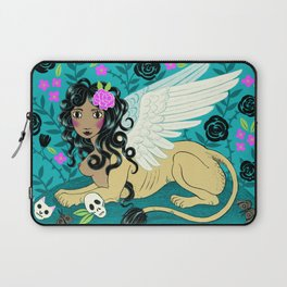 Night Sphinx Laptop Sleeve