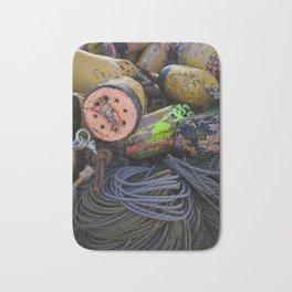 Buoys in Color Bath Mat