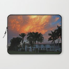 Sunset Over Tarpon Laptop Sleeve