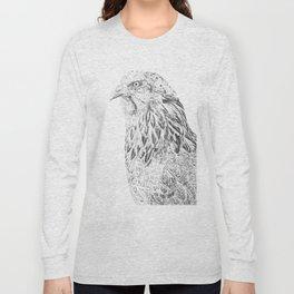 she's a beauty drawing Long Sleeve T-shirt