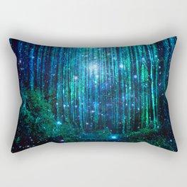 magical path Rectangular Pillow