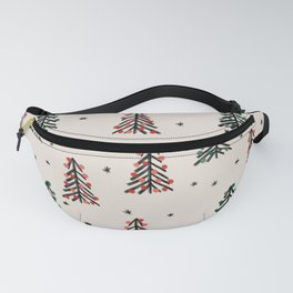 Christmas Tree Pattern II Fanny Pack
