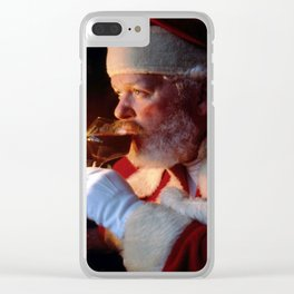 A Glass Of Cheer Clear iPhone Case