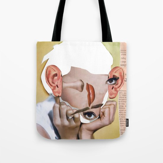 Audrey 2 Collage Tote Bag