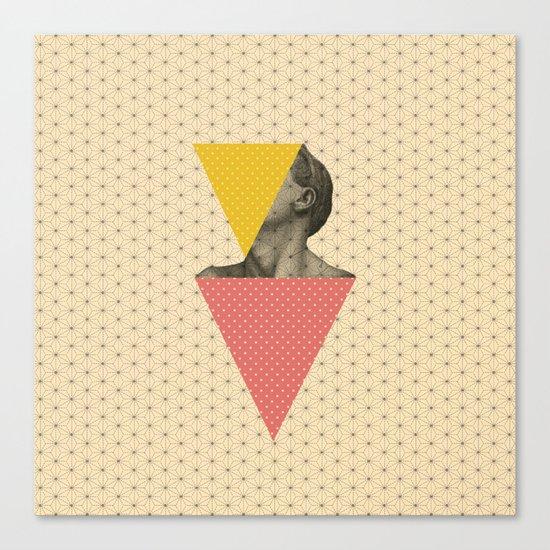 Body and Geometrics  Canvas Print