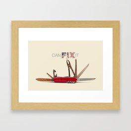The JEB TOOL Framed Art Print