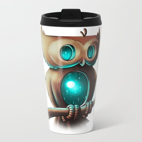 Night Owl Metal Travel Mug