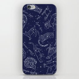 Big Cats Constellations iPhone Skin